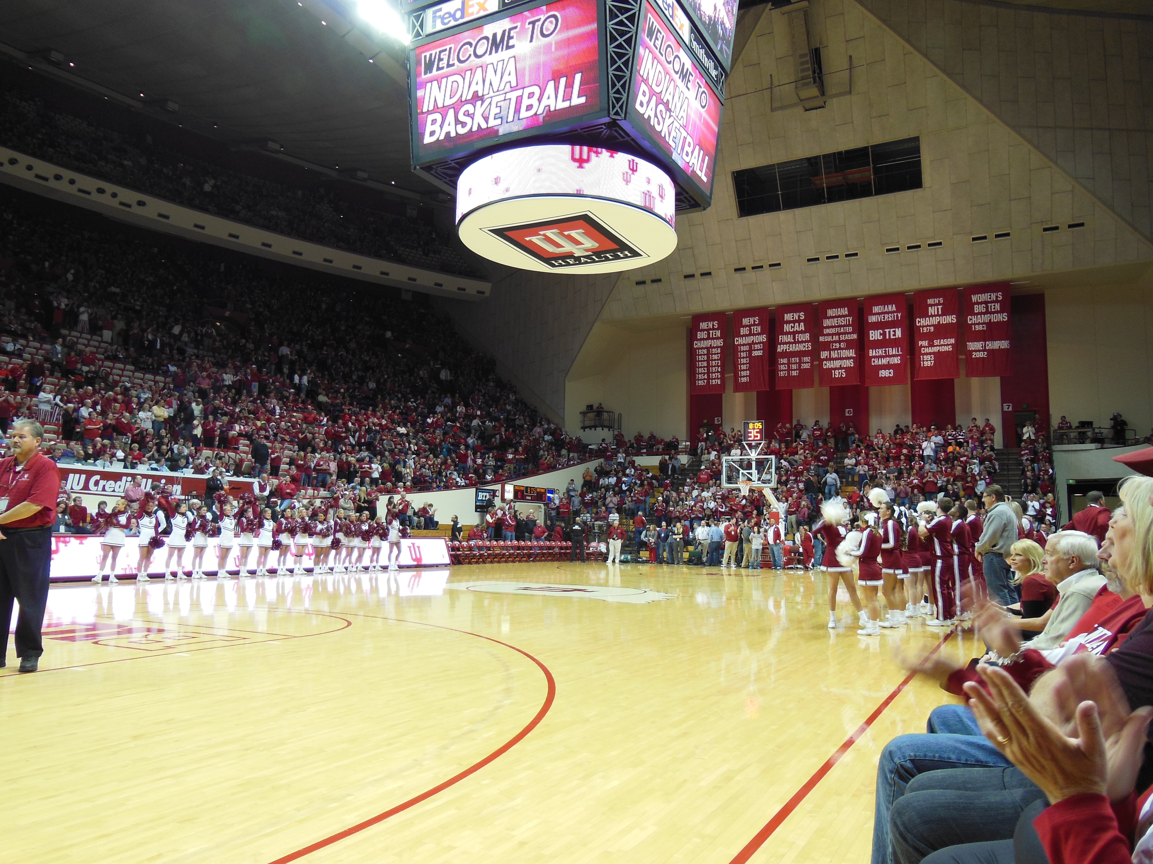 Indiana Wins Season Opener Over Bryant Andy Wittry