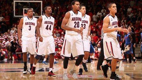 Sean Miller's Arizona Wildcats are ranked fourth in the country and their 11-0 start is the best since the 1987-88 season. (Image courtesy of http://espn.go.com/watchespn/index/_/id/688594/arizona-vs-miami-fl-semifinal-2)