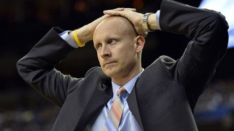 Chris Mack's questionable coaching decisions make him largely responsible for Xavier's one-point loss to Wofford. (Image courtesy of http://www.rantsports.com/ncaa-basketball/2012/10/01/juco-star-chris-thomas-back-on-the-market-after-decommitting-from-xavier/)