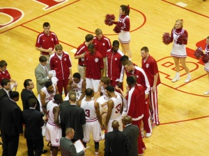 Saturday, December 15th was the first regular season appearance for Indiana freshman Hanner Mosquera-Perea.