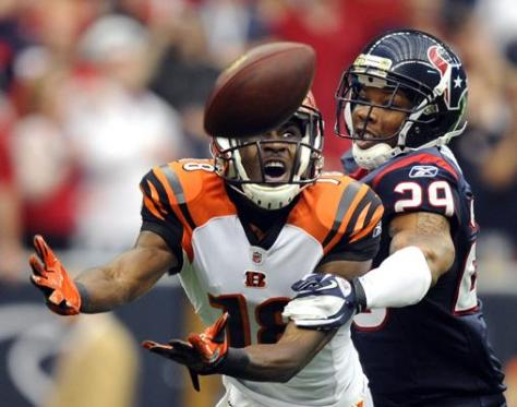 Andy Dalton did not target A.J. Green in the first half against Houston. (Image courtesy of http://www.boston.com/sports/football/2013/01/04/picking-the-nfl-wild-card-winners/IltouiU0yasLRvDydm2TNK/story.html?pg=2)