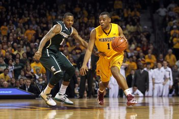 Minnesota beat Michigan State thanks to a 25-8 run to end the game. (Image courtesy of http://www.sbnation.com/college-basketball/2012/12/31/3823022/michigan-st-minnesota-final-score)