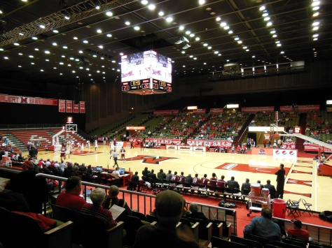 John D. Millett Hall at Miami University is the home of RedHawks basketball.