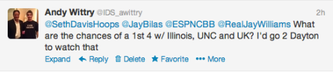 Jay Bilas question