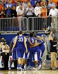 Nerlens Noel had to be helped off of the court by several teammates due to the severity of his injury. (Image courtesy of ukathletics.com)