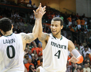The Miami Hurricanes are the only team in a power six conference that is undefeated in conference play. (Image courtesy of http://www.miamiherald.com/2012/11/29/3118194/win-signals-progress-for-miami.html)