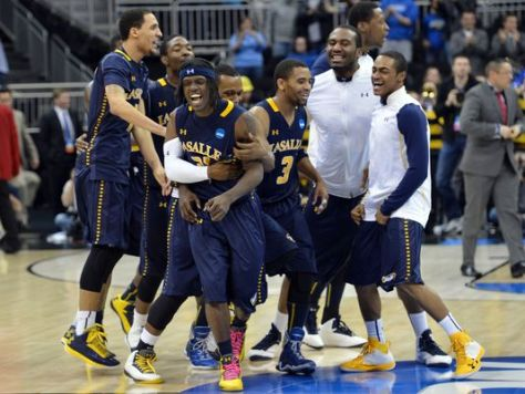 No. 13 seed La Salle will attempt to follow Virginia Commonwealth's footsteps as a First Four team to make the Final Four. (Image courtesy of www.usatoday.com)